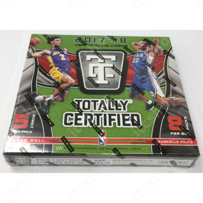 2017-18 Totally Certified Basketball Hobby doboz