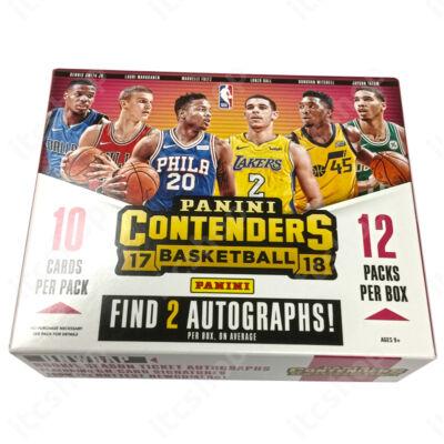 2017-18 Contenders Basketball Hobby doboz
