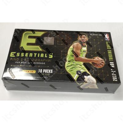 2017-18 Essentials Basketball Hobby doboz