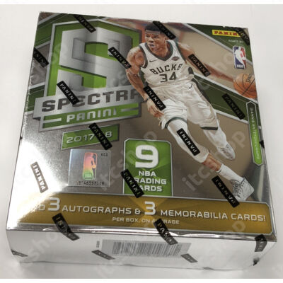 2017-18 Donruss Optic Basketball Fast Break doboz