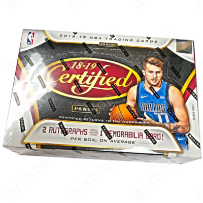 2018-19 Certified Basketball Hobby doboz