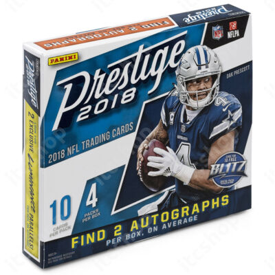 2018 Prestige Football Retail doboz