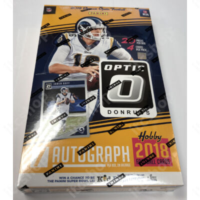 2018 Donruss Optic Football Hobby doboz