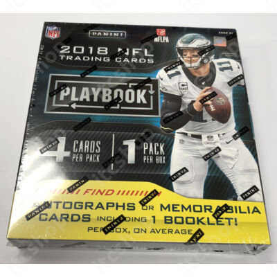 2018 Playbook Football Hobby doboz