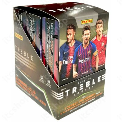 2018-19 Treble Soccer Hobby doboz