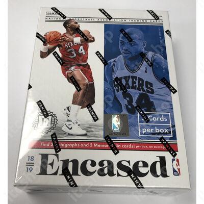 2018-19 Encased Basketball Hobby doboz