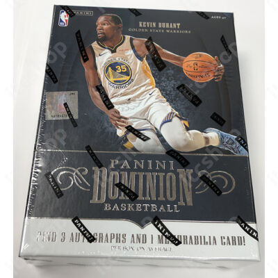 2018-19 Dominion Basketball Hobby doboz