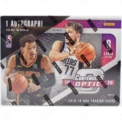 2018-19 Contenders Optic Basketball Hobby doboz