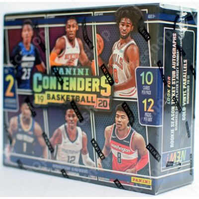 2019-20 Contenders Basketball Hobby doboz