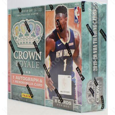 2019-20 Crown Royale Basketball Hobby doboz