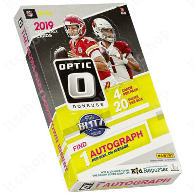2019 Optic Football Hobby doboz