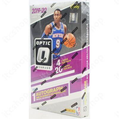 2019-20 Donruss Optic Basketball Hobby doboz
