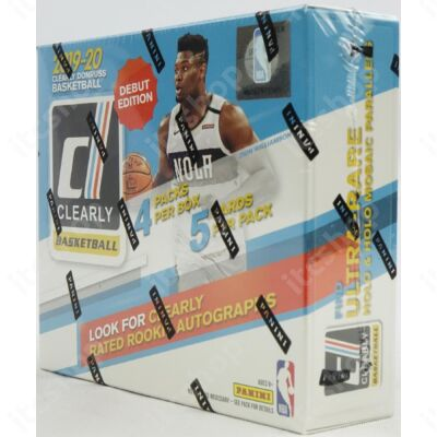 2019-20 Clearly Donruss Basketball Hobby doboz