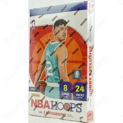 2020-21 NBA Hoops Basketball Hobby doboz