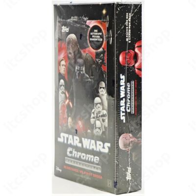 2020 Topps Star Wars Chrome Perspectives Resistance vs. The First Order Hobby doboz