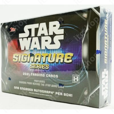 2020 Topps Star Wars Signatures Hobby doboz