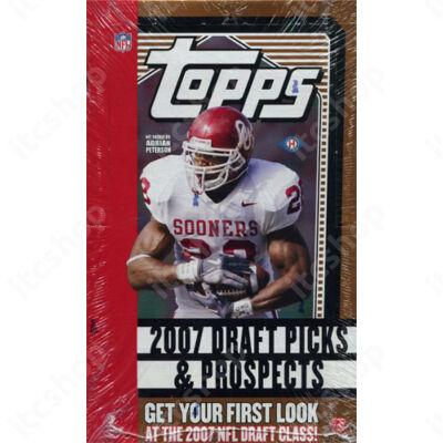 2007 Topps Draft Picks & Prospects Football Hobby Doboz NFL