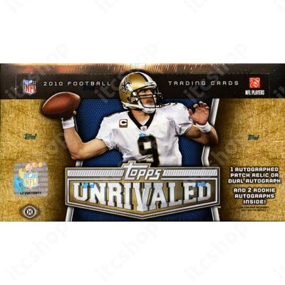 2010 Topps Unrivaled Football Hobby Doboz NFL
