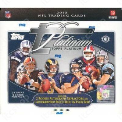 2010 Topps Platinum Football Hobby Doboz NFL