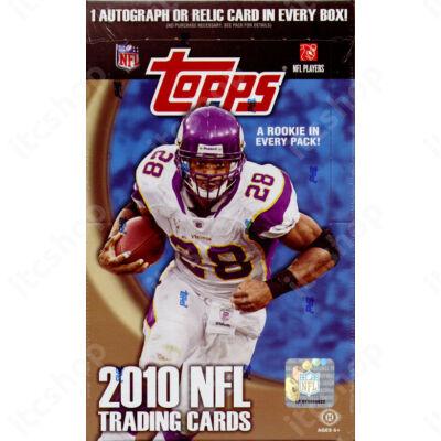 2010 Topps Football Hobby Doboz NFL