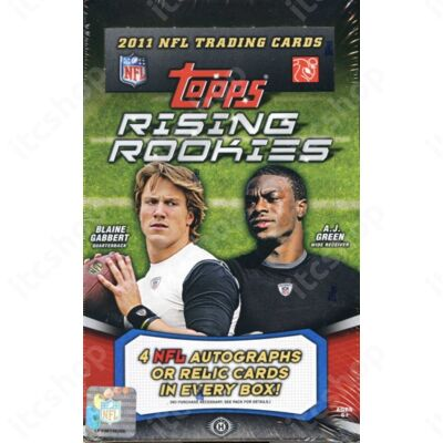 2011 Topps Rising Rookies Football Hobby Doboz NFL