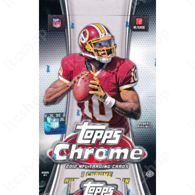 2012 Topps Chrome Football Hobby Doboz NFL