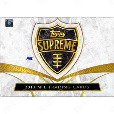 2013 Topps Supreme Football Hobby Doboz NFL