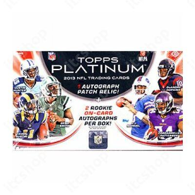 2013 Topps Platinum Football Hobby Doboz NFL
