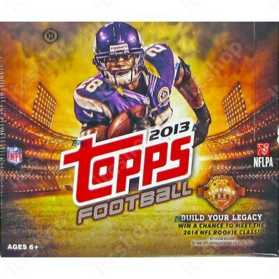 2013 Topps Football Jumbo Doboz NFL