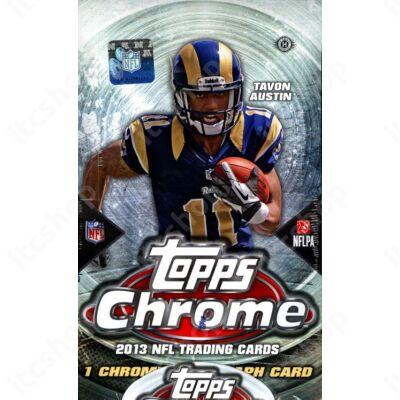 2013 Topps Chrome Football Hobby Doboz NFL