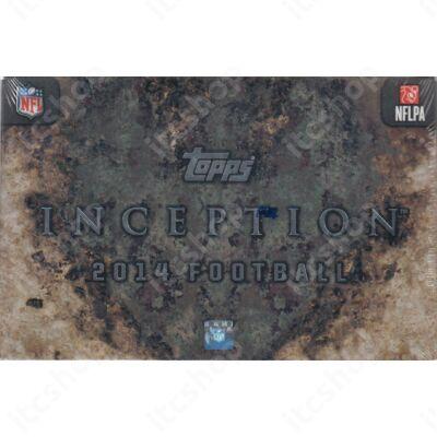 2014 Topps Inception Football Hobby Doboz NFL