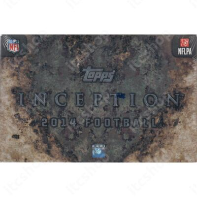 2014 Topps Inception Football Hobby Doboz NFL