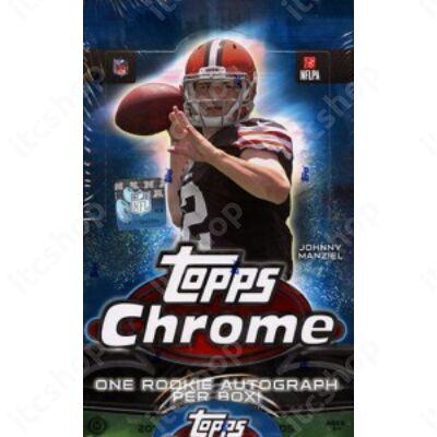 2014 Topps Chrome Football Hobby Doboz NFL