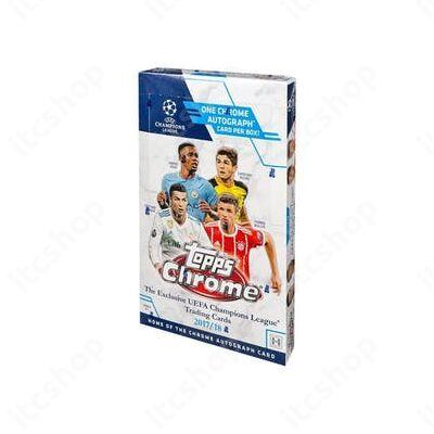 2017-18 Topps Champions League Chrome Hobby doboz