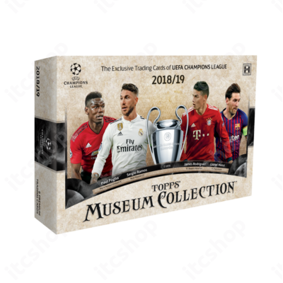 2018-19 Topps Champions League Museum Collection Hobby doboz