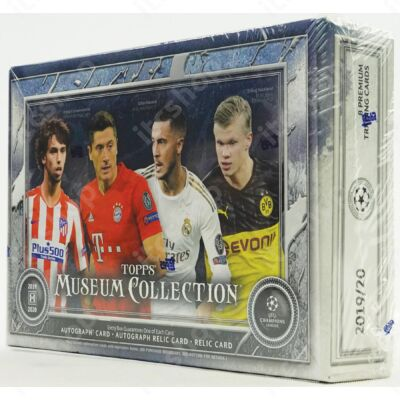 2019-20 Topps Champions League Museum Collection Hobby doboz