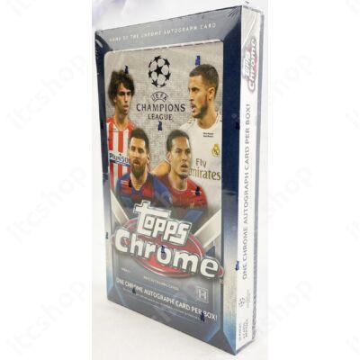 2019-20 Topps Champions League Chrome Hobby doboz