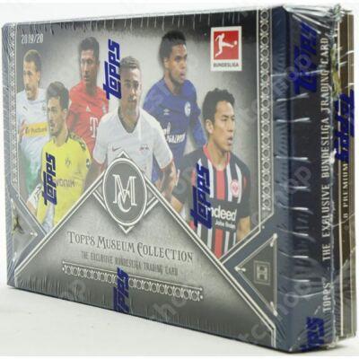 2019-20 Topps Bundesliga Museum Collection Hobby doboz