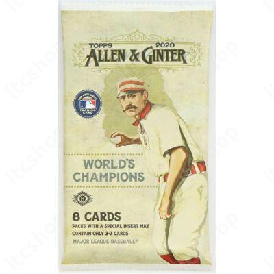 2020 Topps Allen & Ginter Baseball Hobby csomag