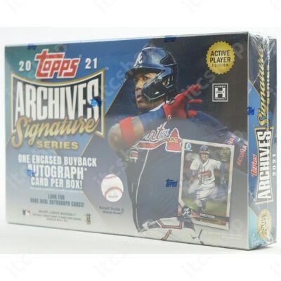 2021 Topps Archives Signature Series Baseball Hobby doboz