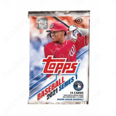 2021 Topps Series 1 Baseball Hobby csomag