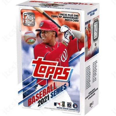 2021 Topps Series 1 Baseball Blaster doboz