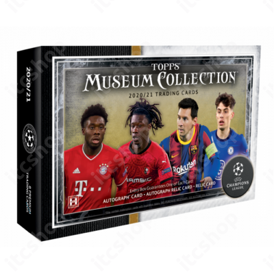 2020-21 Topps Champions League Museum Collection Hobby doboz