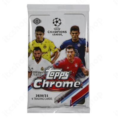 2020-21 Topps Chrome Champions League Hobby csomag