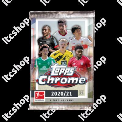 2020-21 Topps Bundesliga Chrome Hobby csomag