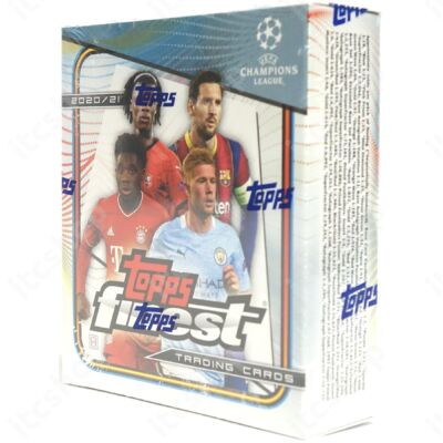 2020-21 Topps Finest Champions League Hobby doboz