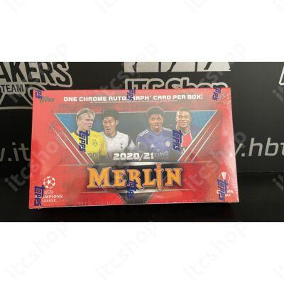 2020-21 Topps Merlin Chrome Hobby doboz