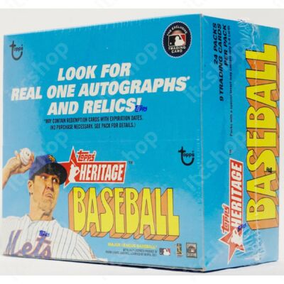 2021 Topps Heritage Baseball Retail doboz
