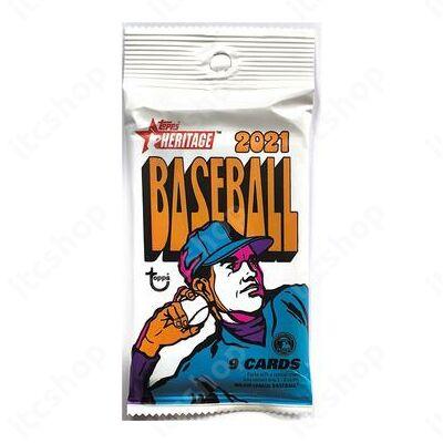 2021 Topps Heritage Baseball Retail csomag