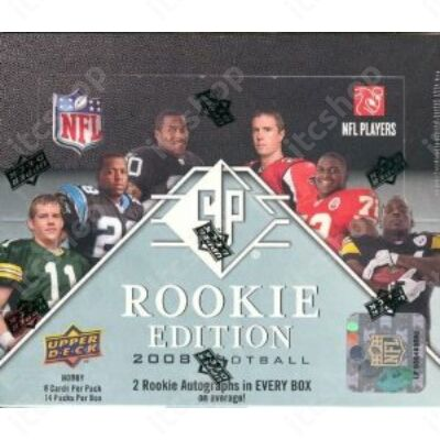 2008 Upper Deck SP Rookie Edition Football Hobby doboz NFL